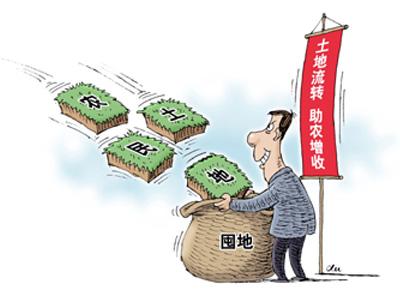 """河南局地现资本下乡""""圈地""""泡沫化"""