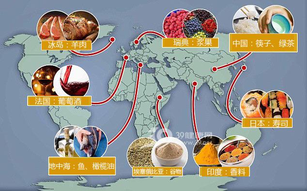 世界公认的最佳吃法 全球各地健康饮食清单